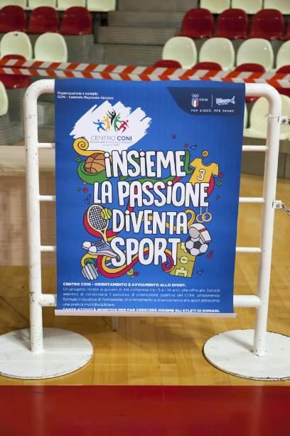 Festa di Lancio Centri Coni Abruzzo - Palascapriano di Teramo Domenica 18 Novembre 2018