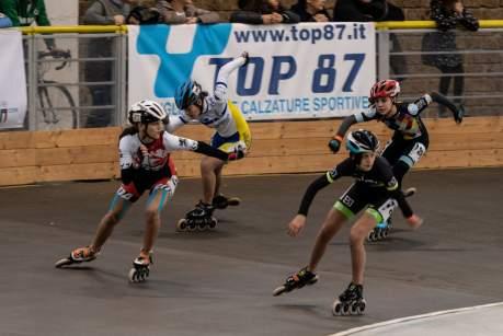 Pescara 2-3 Febbraio 2019 - Campionati Italiani Indoor Pattinaggio Corsa