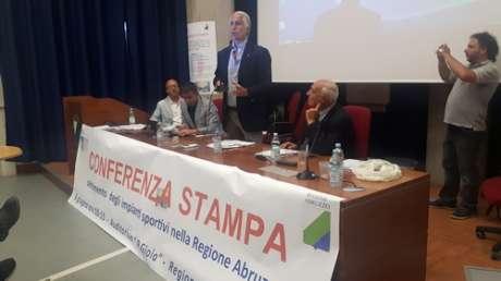 Presentazione censimento degli impianti sportivi in Abruzzo
